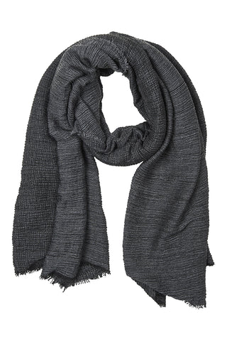 Mercia Scarf in Charcoal