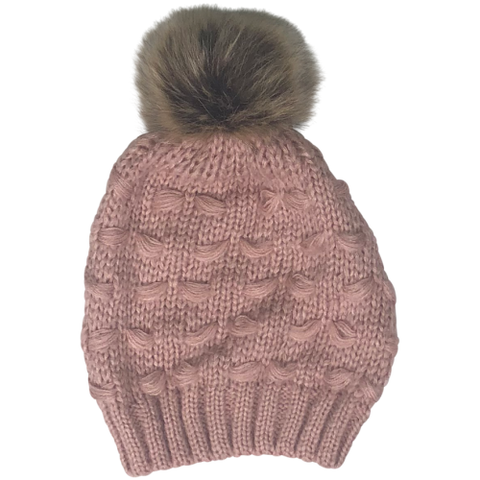 Blake Beanie in Blush