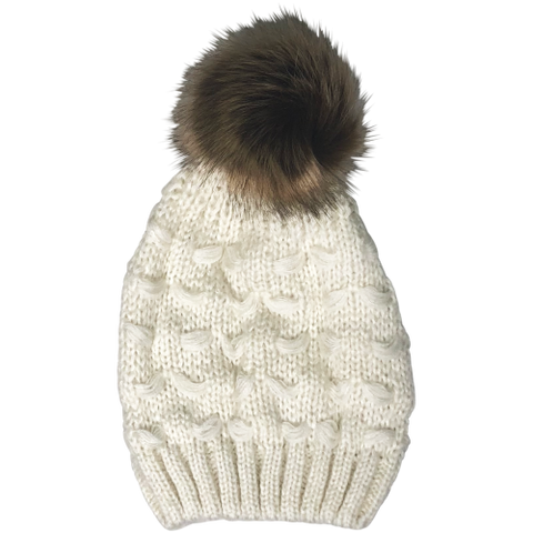 Blake Beanie in Cream