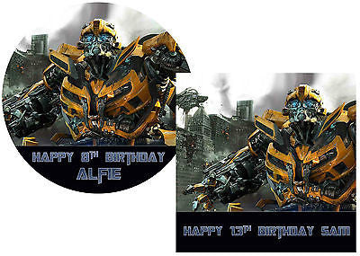 Transformers Cake Decorations Uk : Transformers Bumblebee Cake Topper   Sunshine Cake Toppers