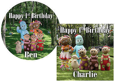 In the night garden cake topper
