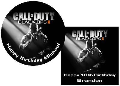 Call of Duty Black Ops 2 Cake Topper – Sunshine Cake Toppers