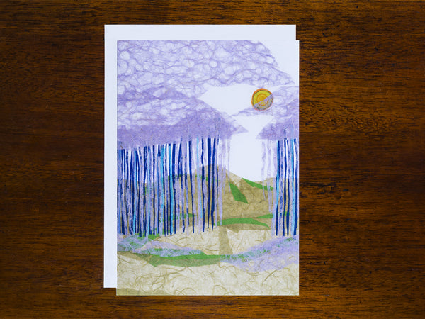 Desert Summer Rain Card