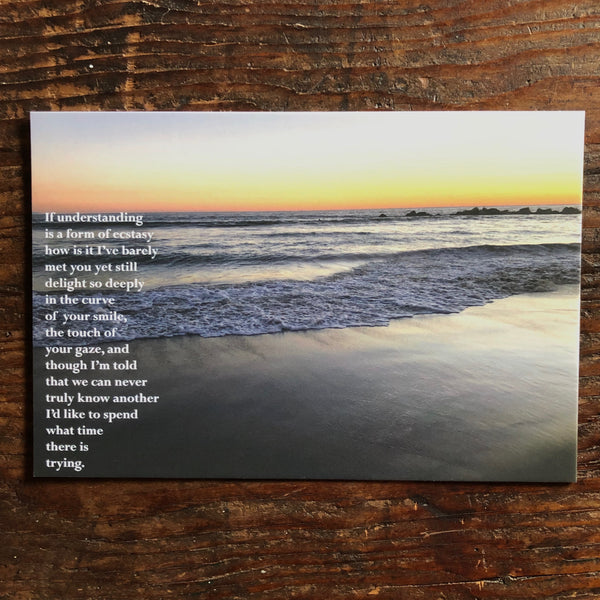 Poetry Postcard: DELIGHT