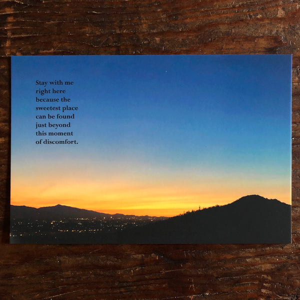 Poetry Postcard: HERE