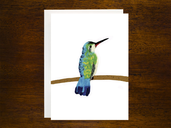 Hummingbird at Rest Card