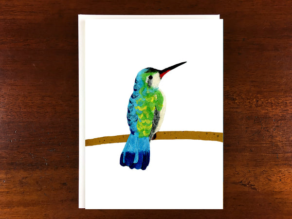 WS - Hummingbird at Rest Card