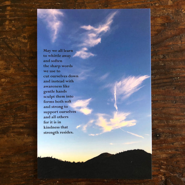 Poetry Postcard: KINDNESS