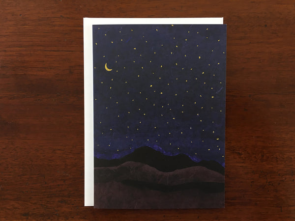 Night Sky II Card