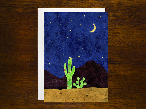 Saguaro Christmas Card
