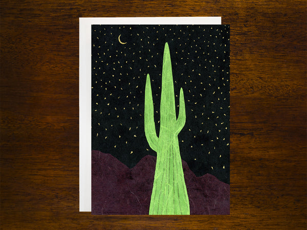 WS - Saguaro Nights Card