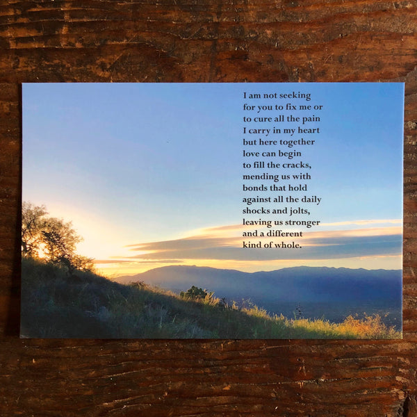 Poetry Postcard: TOGETHER