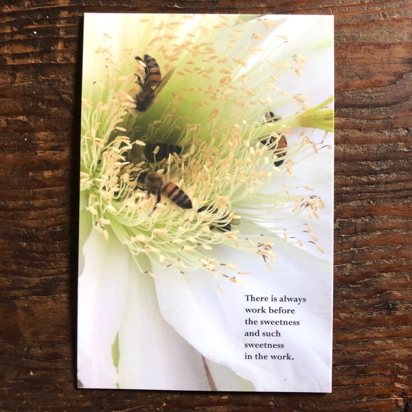 Poetry Postcards: WORK