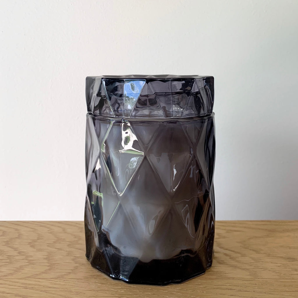 Diamond Cut Jar - Ghost Grey - Kandili