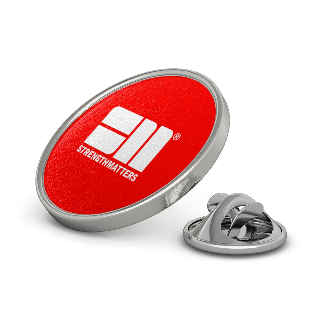 Strength Matters Pin (Red)