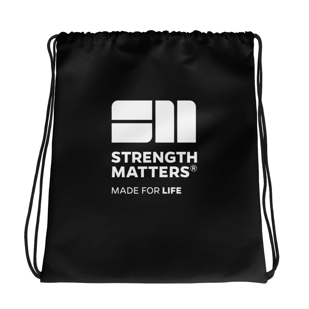 Strength Matters Drawstring Bag