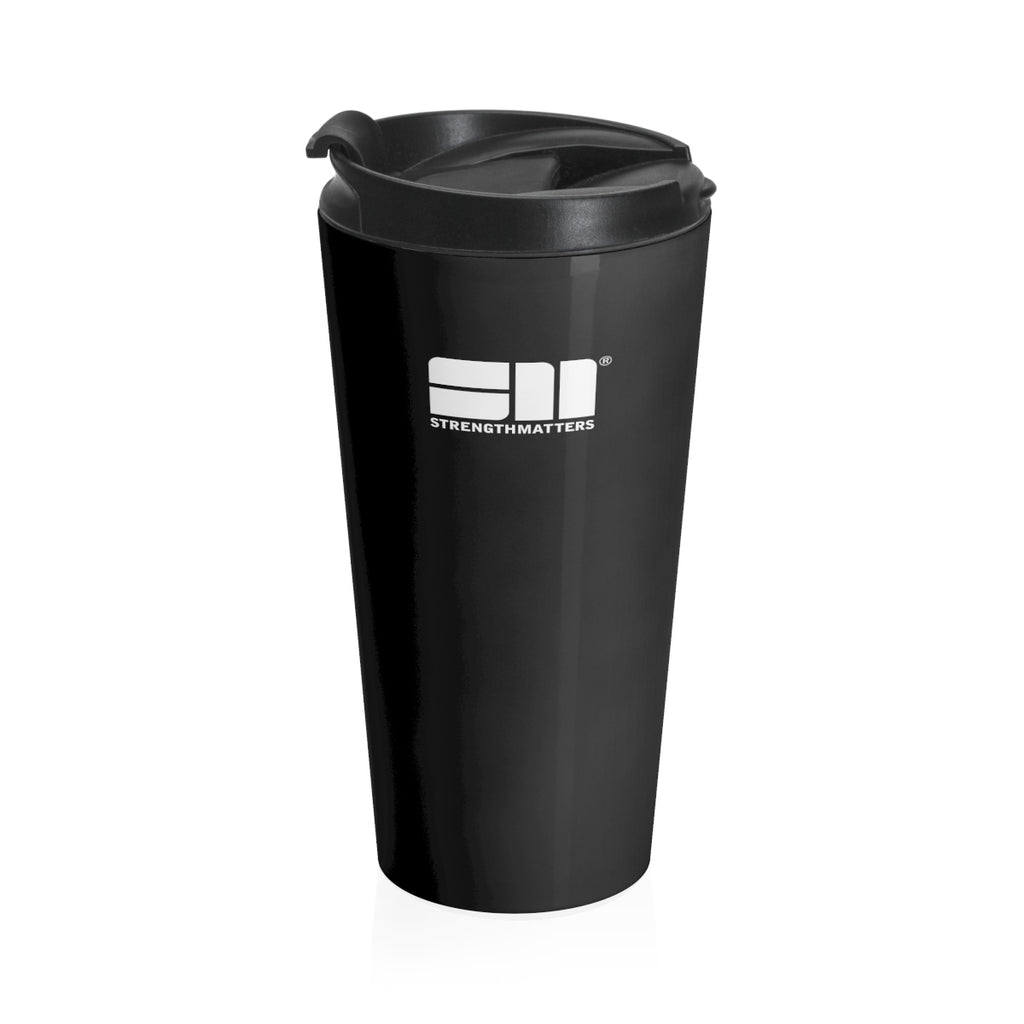 Strength Matters Travel Mug (Black)