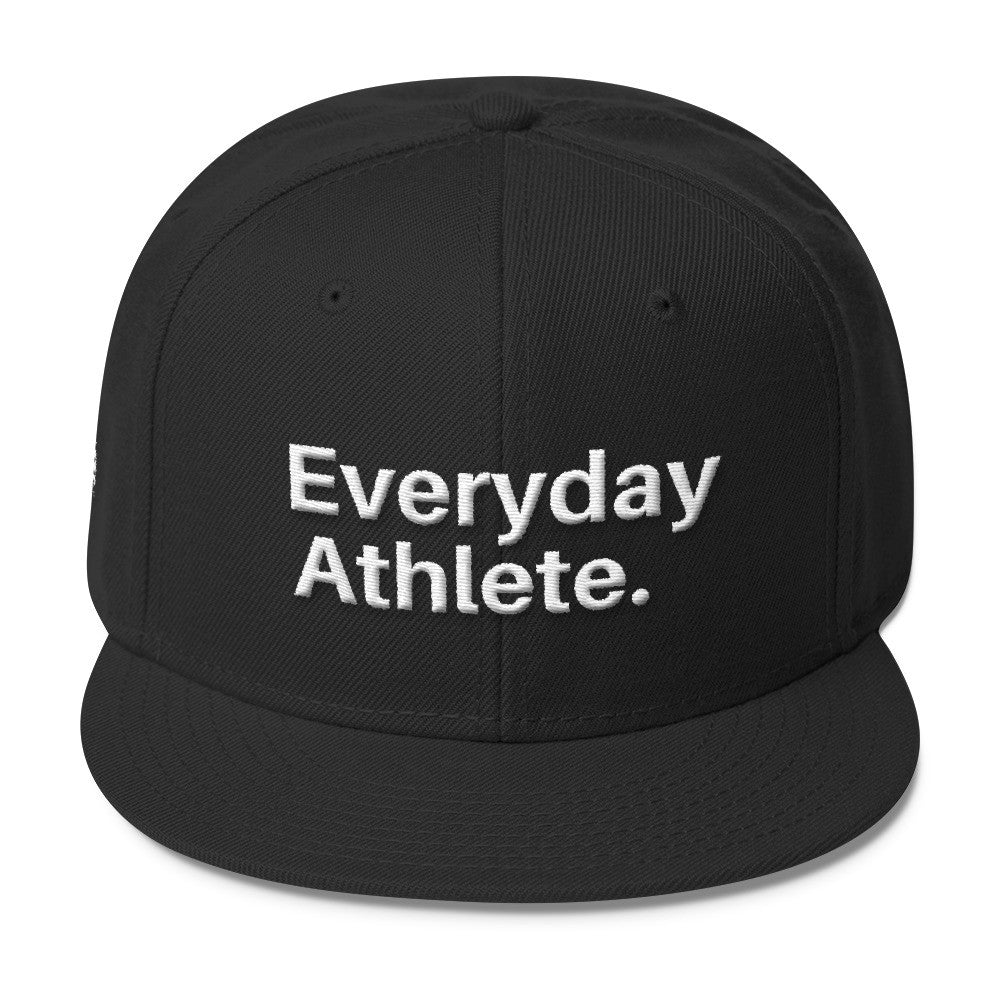 Everyday Athlete® Wool Blend Snapback Hat