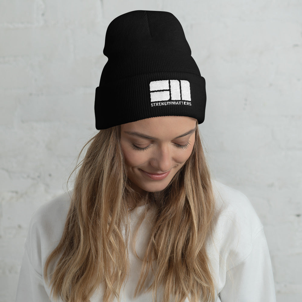 Strength Matters Cuffed Beanie
