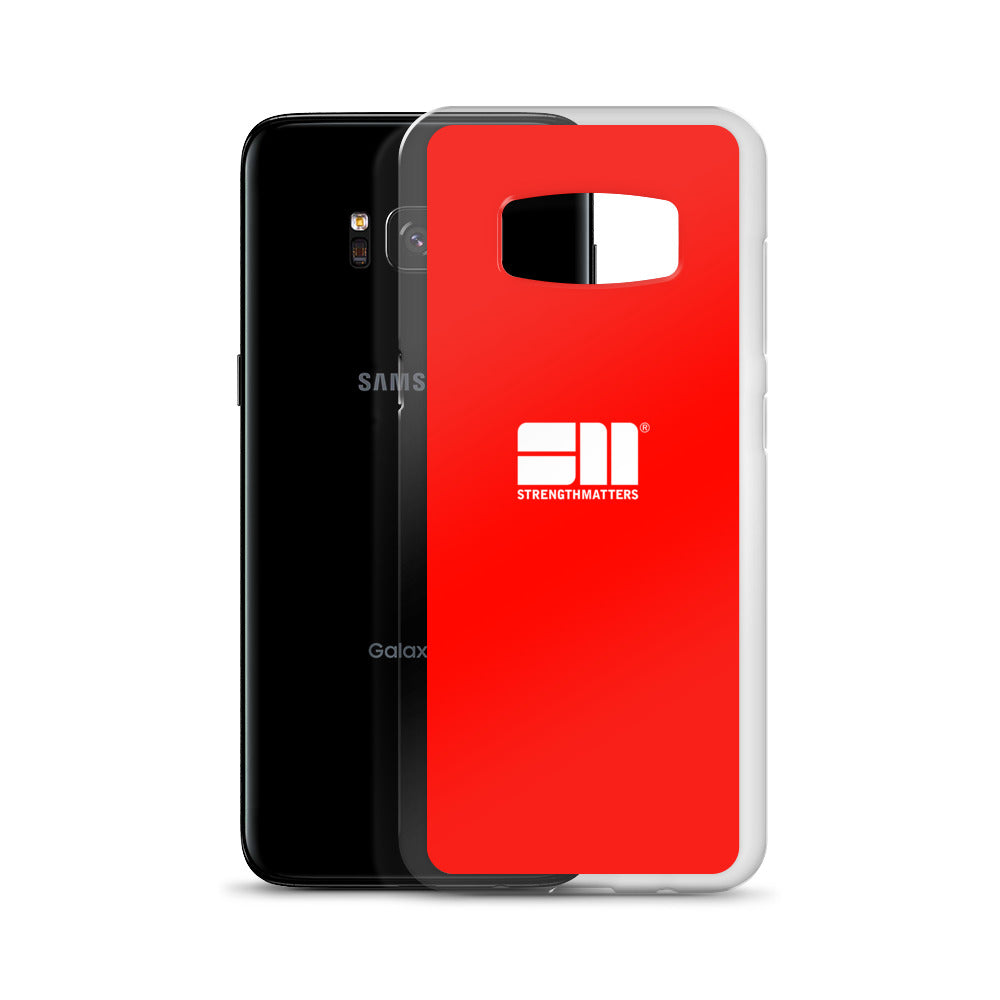 Strength Matters Samsung Case (Red)