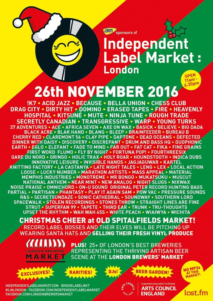 Independent Label Market: London 26th November 2016