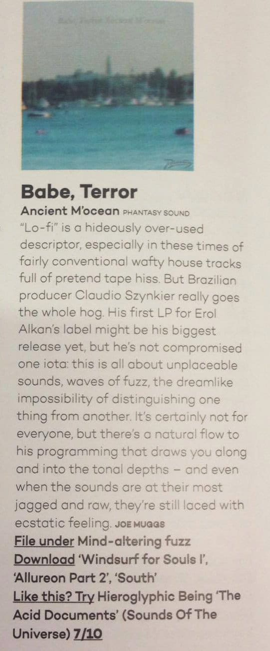 Mixmag Review: Babe Terror 'Ancient M'ocean'