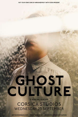 Ghost Cultures Next Live Gig Is At Corsica Studios