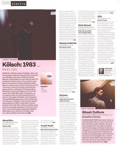 Mixmag Electro Review For Kamera And Ghost Culture
