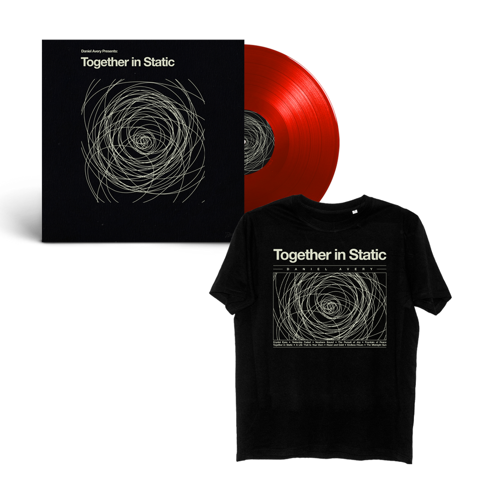 Bundle: Daniel Avery 'Together in Static' LP + T-Shirt