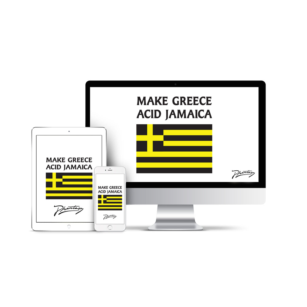 Make Greece Acid Jamaica Screen Saver