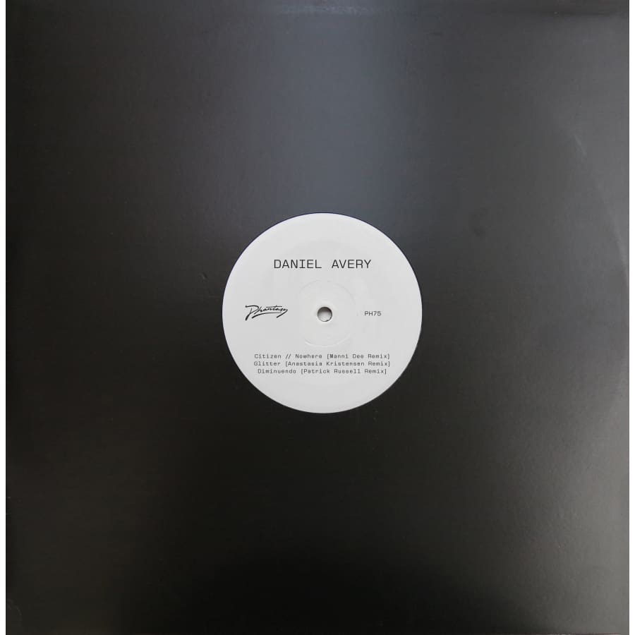 Daniel Avery 'Song For Alpha Remixes - One' [PH 75] / Vinyl