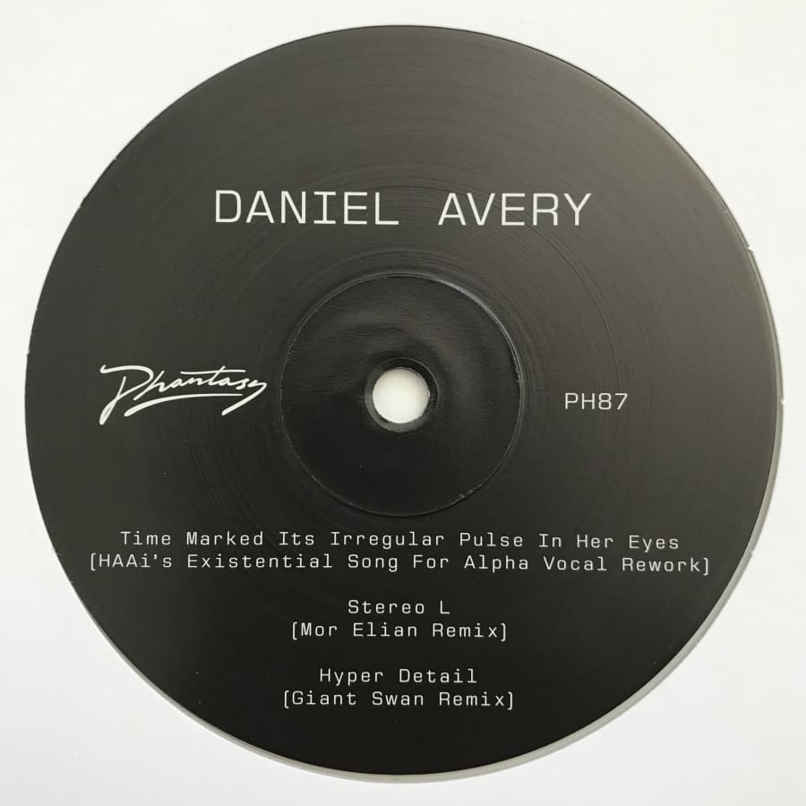 Daniel Avery - Song For Alpha Remixes Three [PH87] - Vinyl
