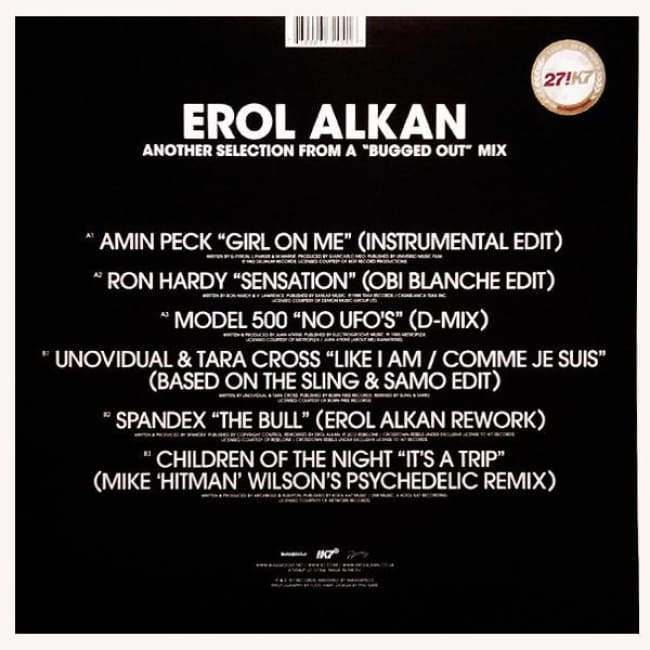 Erol Alkan ‎- Another Selection From A