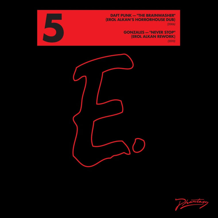 Erol Alkan Reworks: Daft Punk 'The Brainwasher' / Gonzales 'Never Stop'' [PH65]