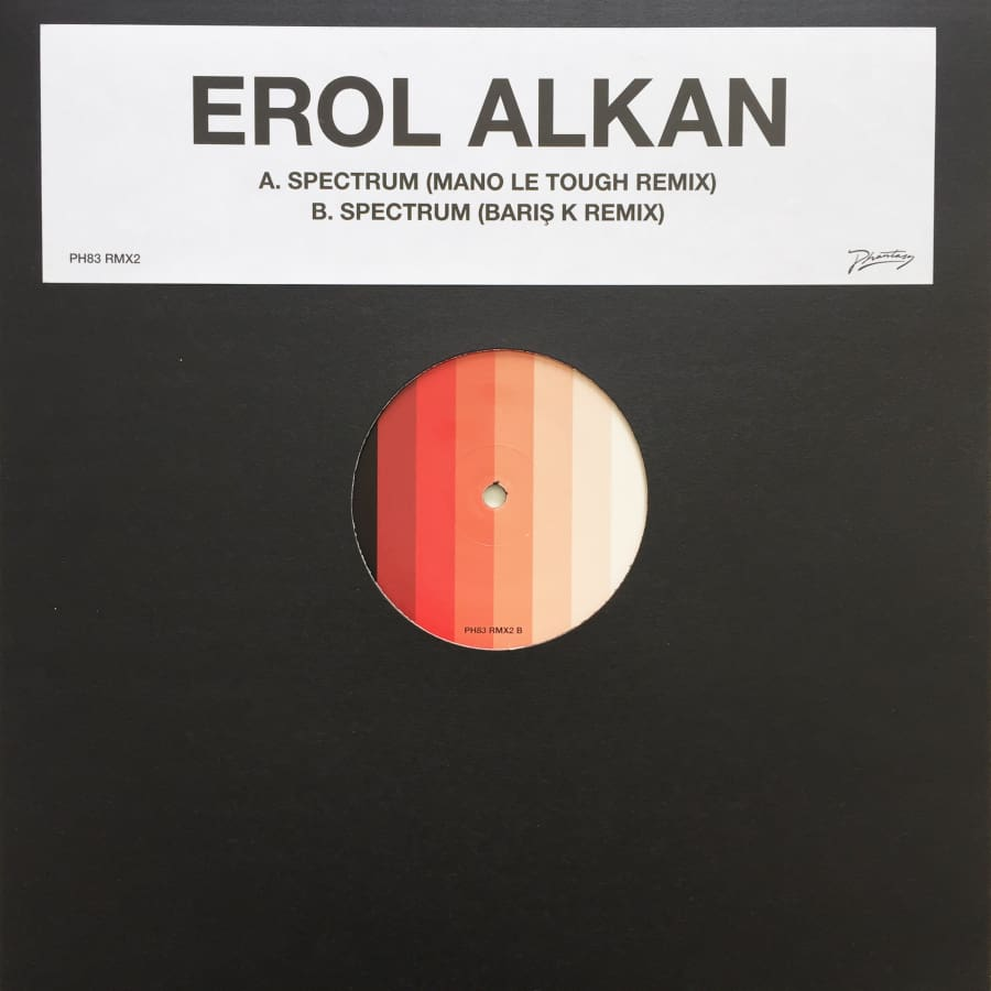 Erol Alkan Spectrum (Mano Le Tough and Baris K Remixes) [PH 83RMX2] - Vinyl