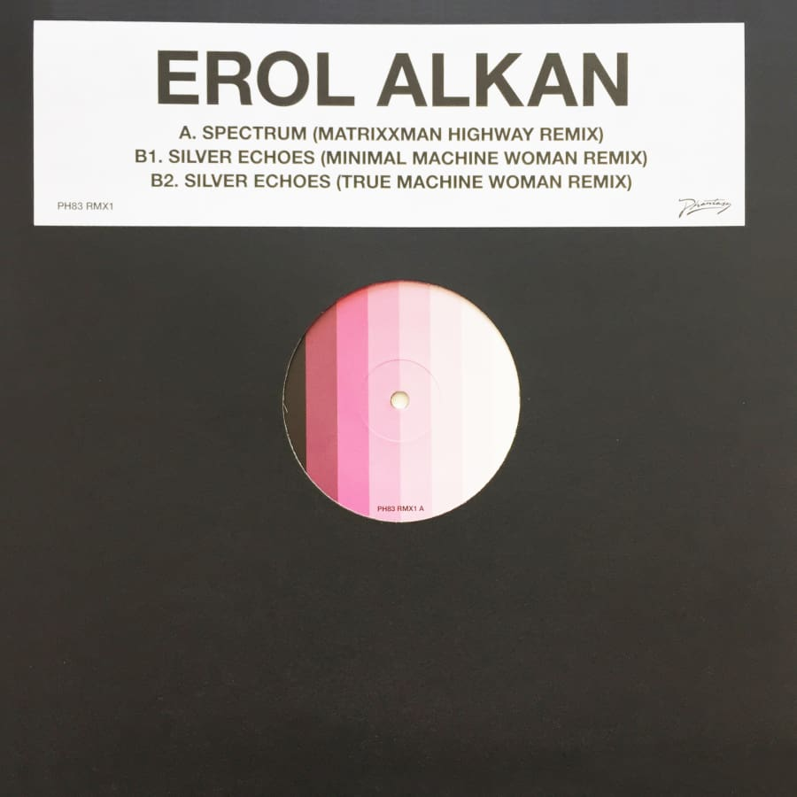 Erol Alkan 'Spectrum' / Silver Echoes (Matrixxman and Machine Woman Remixes) [PH 83RMX1] / Vinyl