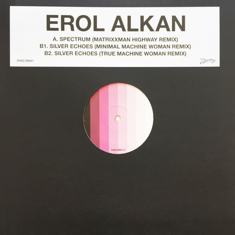 Erol Alkan 'Spectrum' / Silver Echoes (Matrixxman and Machine Woman Remixes) [PH 83RMX1]