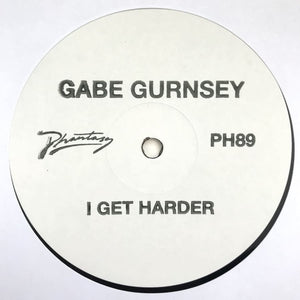 Gabe Gurnsey - I Get Harder [PH89] - Vinyl