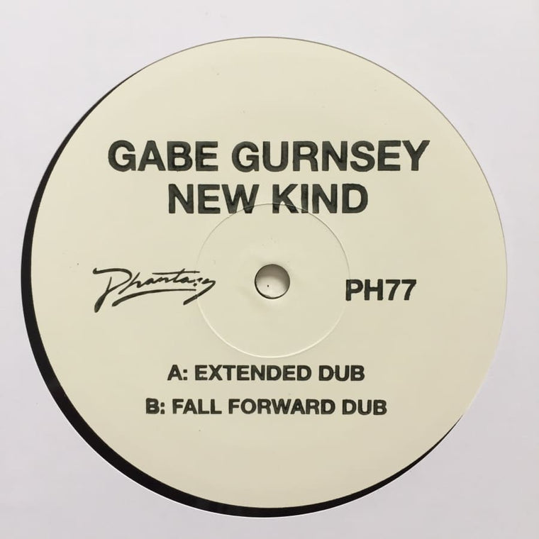 Gabe Gurnsey - New Kind (Fall Forward Remix) / (Extended Dub) [PH 77]