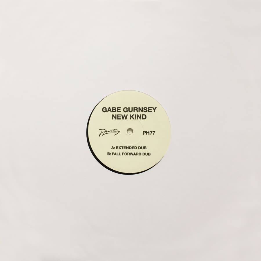 Gabe Gurnsey - New Kind (Fall Forward Remix) / (Extended Dub) [PH 77] / Vinyl