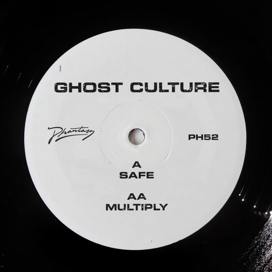 Ghost Culture - Safe / Multiply [PH52] - Vinyl
