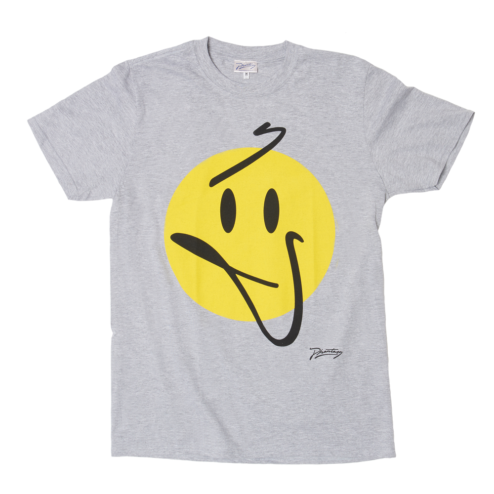 Phantasy 'Smile' Grey T-Shirt