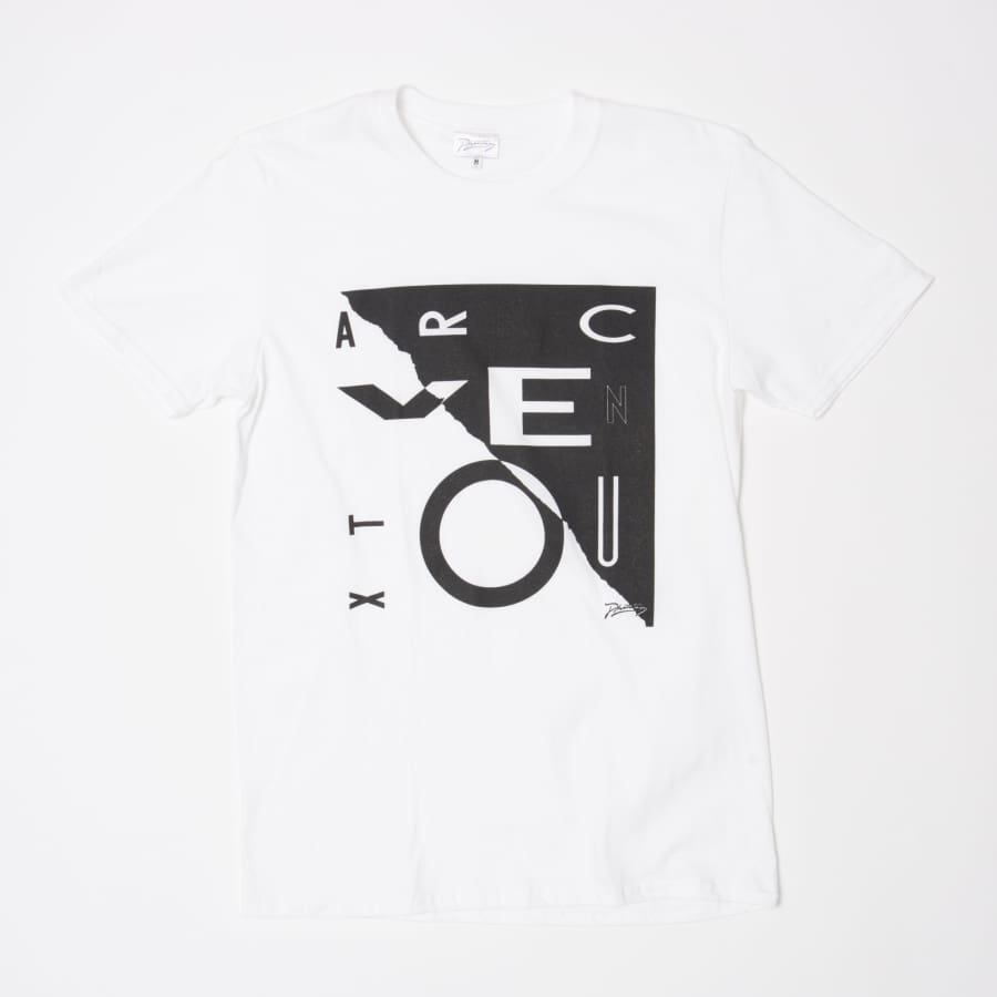 James Welsh Arc Ventoux T-Shirt - Small / White - T Shirt
