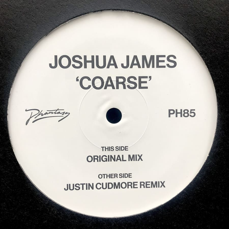 Joshua James - Coarse (w/ Justin Cudmore Remix) [PH85] - Vinyl