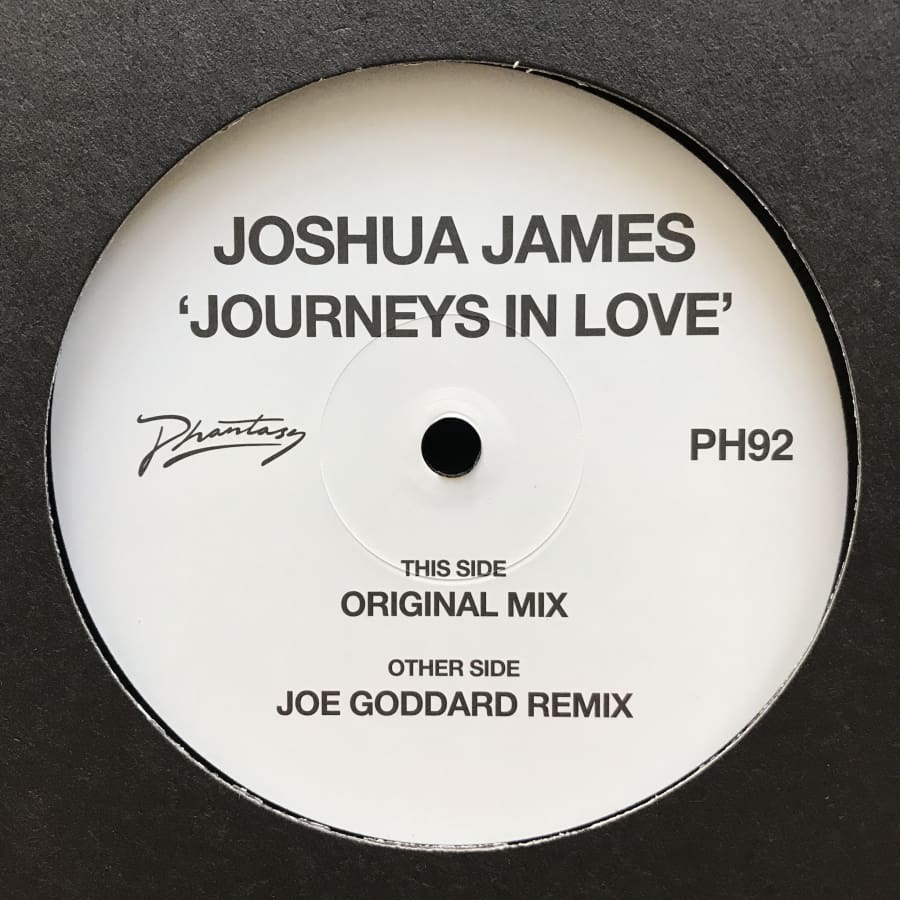 Joshua James - Journeys In Love (w/ Joe Goddard Remix) [PH92] - Vinyl