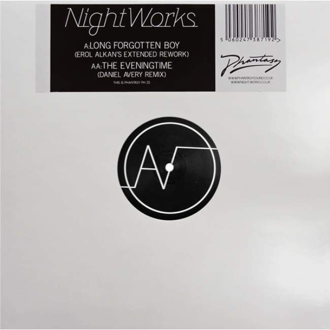 Night Works - Long Forgotten Boy / The Eveningtime (Erol Alkan & Daniel Avery Remixes) [PH 25] / Vinyl