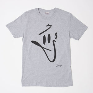 Phantasy Face T-Shirt - Small / Grey - T Shirt