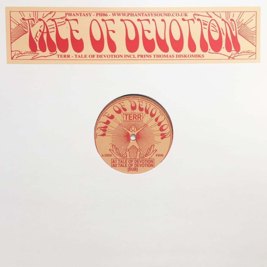 Terr Tale of Devotion (Original / Prins Thomas Diskomiks) [PH86] - Vinyl