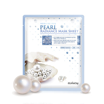 Pearl Radiance Sheet Mask (Pack of 10)