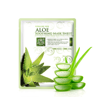 Aloe Soothing Sheet Mask (Pack of 10)